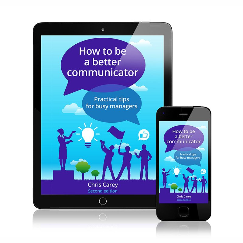 How To Be A Better Communicator (Chris Carey): Axiom branded e-book single copy
