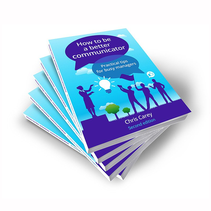 How To Be A Better Communicator (Chris Carey): Axiom branded printed book multiple copies