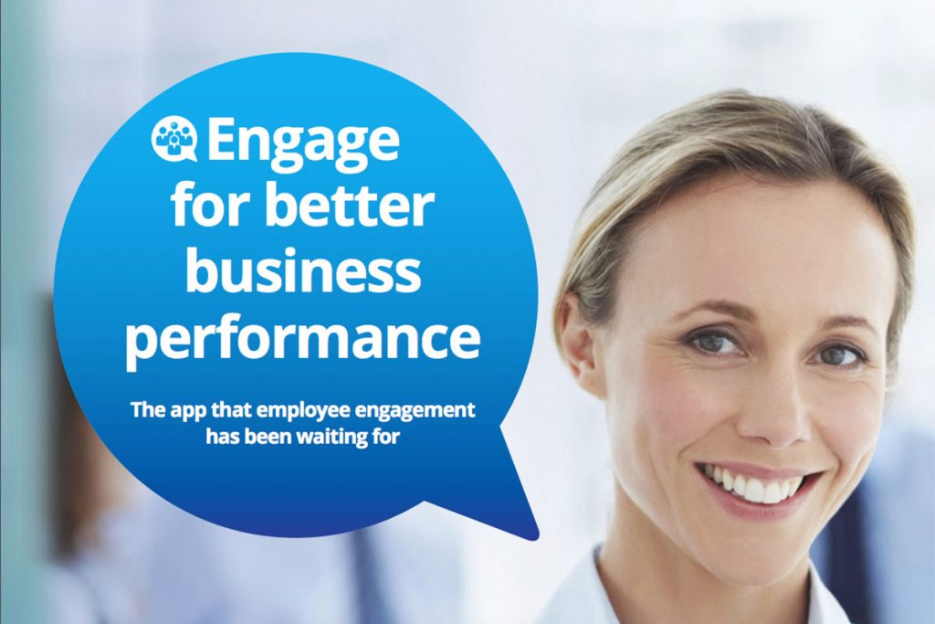 Engage app flyer