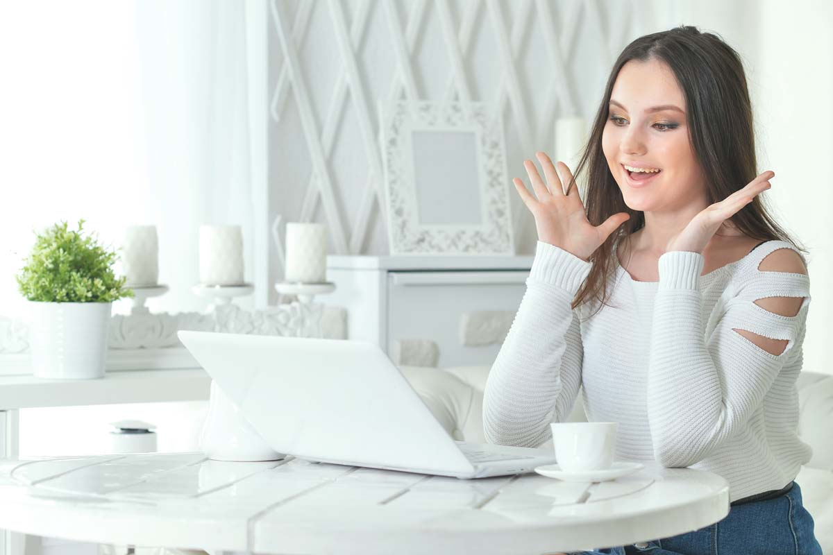 Lady At White Table   Axiom Communications