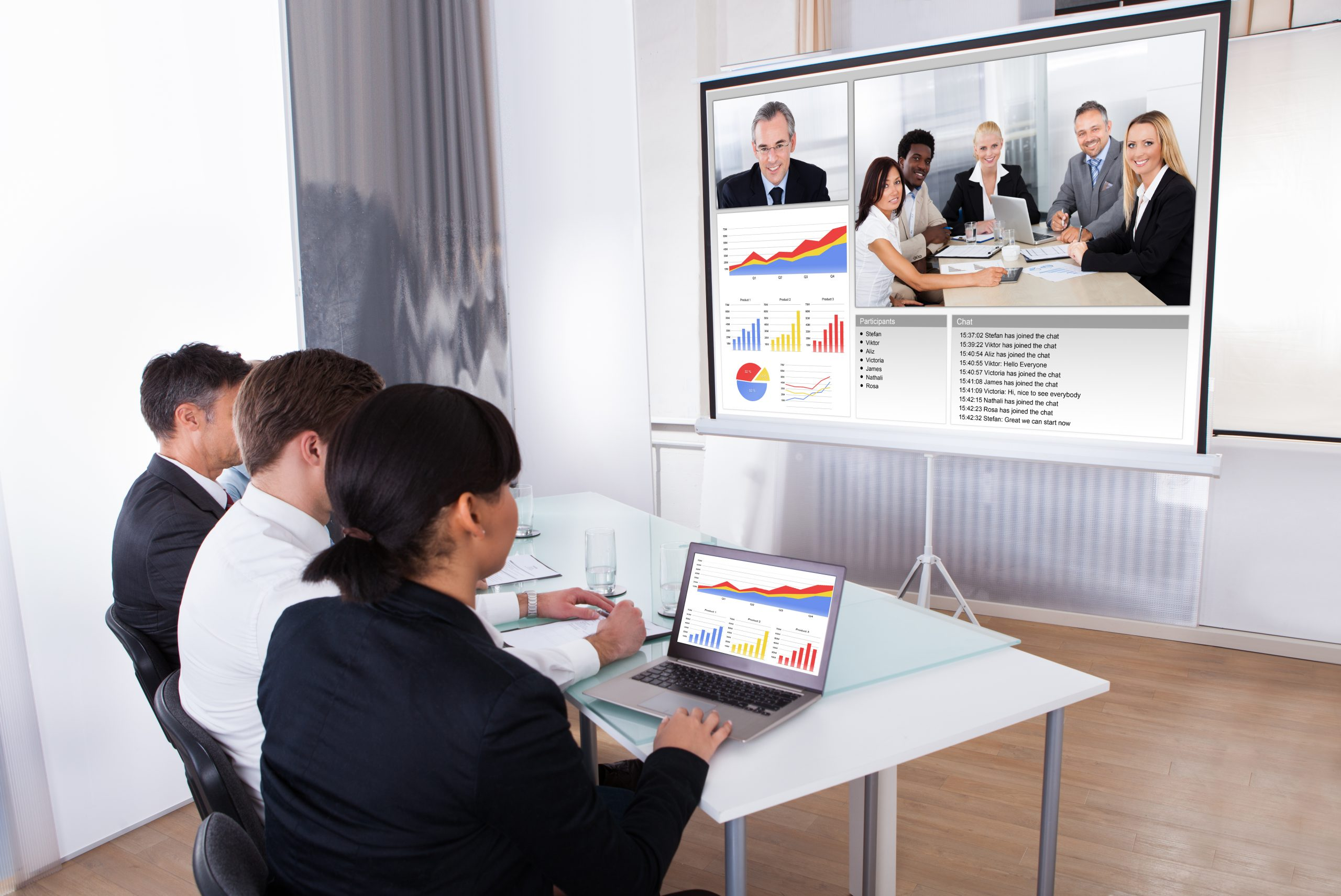 Business people in meeting | Axiom Communications
